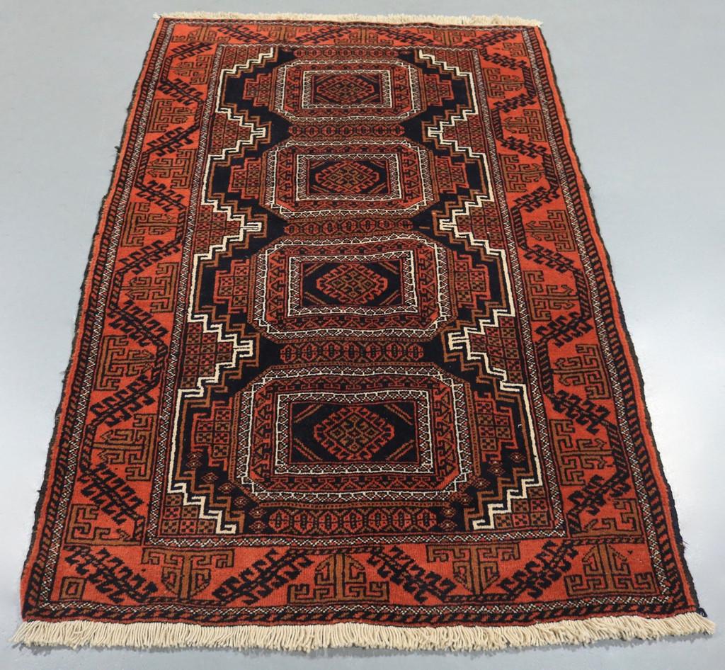 Persian Rugs Australia: Baluchi Tribal Persian Rug (Ref 18597) 154x101cm