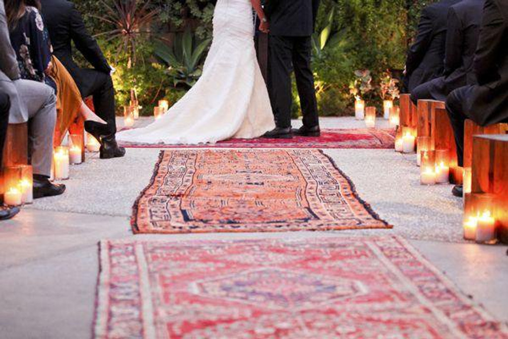TIPS FOR STYLING A BOHEMIAN WEDDING WITH PERSIAN RUGS V2