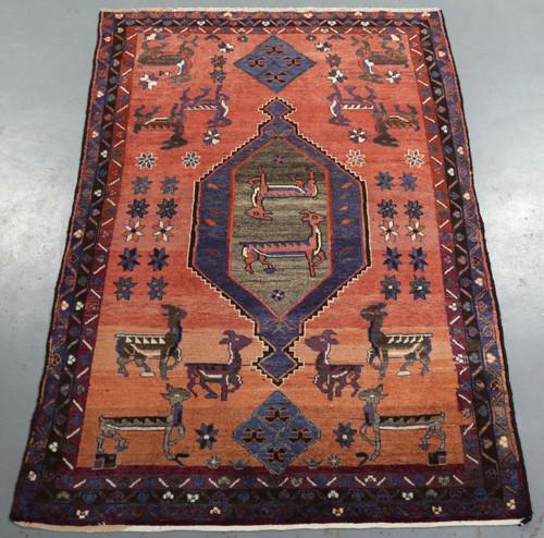 Luri Vintage Persian Rug (Ref 91) 236x156cm