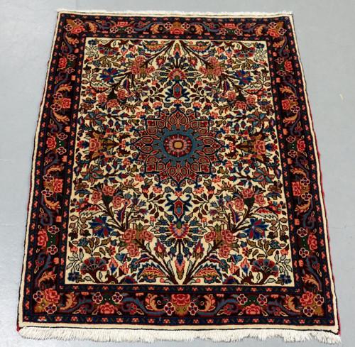 Sarouk Persian Rug (Ref 448) 100x78cm