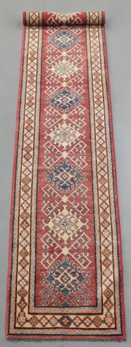 Kazak Veggie Dye Runner (Ref 149) 396x68cm