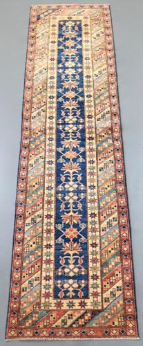 Kazak Veggie Dye Runner (Ref 535) 359x80cm