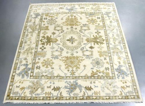 Oushak Indo Soft Wool Rug (Ref 15) 300x248cm
