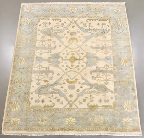 Oushak Indo Soft Wool Rug (Ref 6) 293x250cm