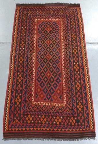 Kyber Mori Tribal Kilim (Ref 703) 257x123cm
