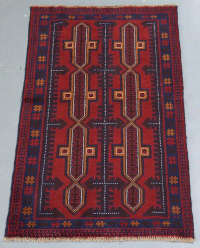 Baluchi Tribal Rug (Ref 871) 176x106cm