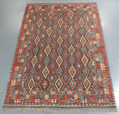 Veggie Dye Afghan Kilim (Ref 105097) 301x201cm