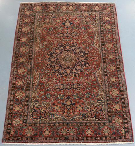 Harun Kashan Vintage Persian Rug (Ref 217) 208x134cm