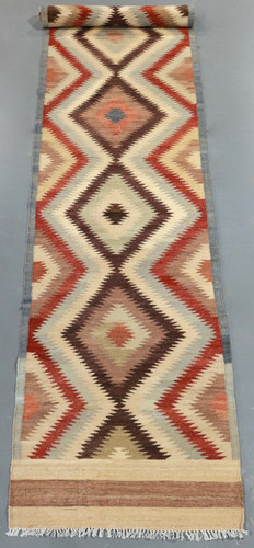 Vegetable Dye Kilim Runner (Ref 2734) 486x87cm