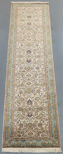 Kashmir Pure Silk Runner (Ref 8408) 310x76cm