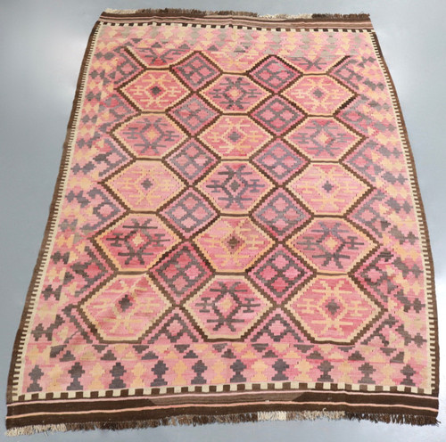 Vintage Afghan Tribal Kilim (Ref 9) 274x197cm
