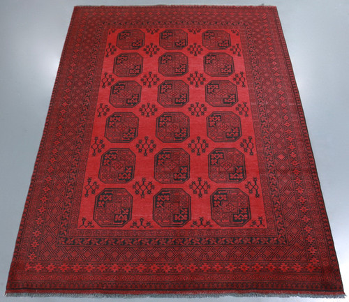 Elephant's Foot Bokhara Tribal Rug (Ref 23) 294x203cm
