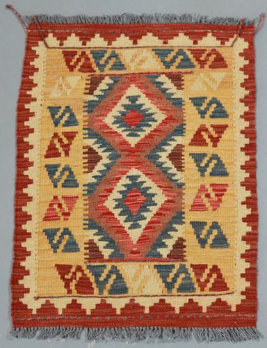 Veggie Dye Afghan Kilim (Ref 1599) 85x60cm