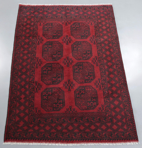 Elephant's Foot Bokhara Tribal Rug (Ref 439) 235x155cm