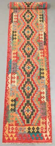 Veggie Dye Afghan Kilim Runner (Ref 435) 487x82cm