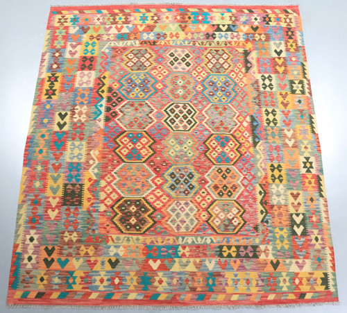 Vegetable Dye Kilim Rug (Ref 178) 297x262cm