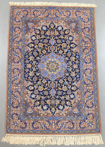 Isfahan Fine Vintage Persian Rug (Ref 55) 162x110cm
