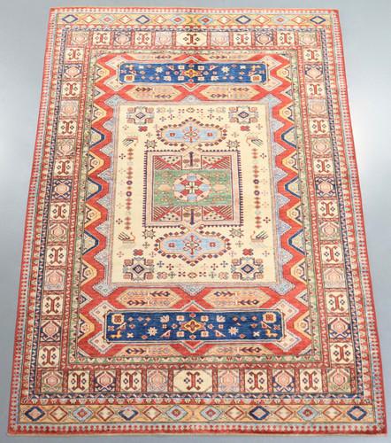 Kazak Farahan Fine Veggie Dye Rug (Ref 33172) 244x173cm