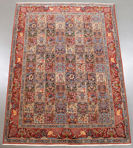 Birjand Pictorial Persian Rug (Ref 58) 278x205cm