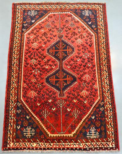 Shiraz Vintage Persian Rug (Ref 523190) 250x160cm