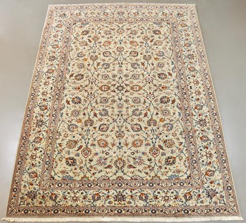 Pistachio Kashan Persian Rug (Ref 203) 385x280cm