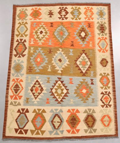 Vegetable Dye Kilim Rug (Ref 47) 200x147cm