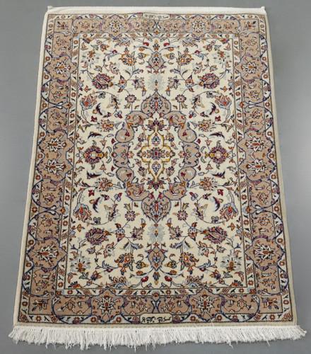 Pistachio Kashan Persian Rug (Ref 123) 161x112cm
