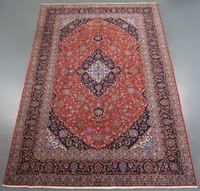 Kashan Kork Wool Kashan Persian Rug (Ref 63) 327x204cm