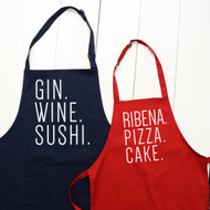 Personalised Child / Adult  'Favourite Food And Drink' Apron