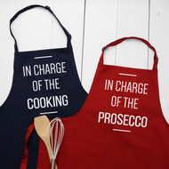 Personalised 'In Charge Of' Apron