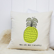 Personalised 'Fineapple' Cushion