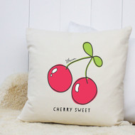 Personalised 'Cherry' Cushion