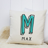 Personalised 'Initial' Cushion