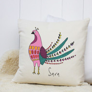 Personalised 'Bird' Cushion