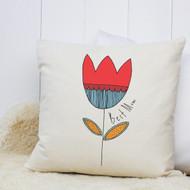 Personalised 'Flower' Cushion