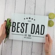 Personalised 'Best Dad' Chopping Board
