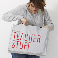 Personalised 'Teacher Stuff' Bag