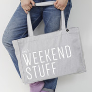 Personalised 'Weekend Stuff' Bag