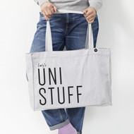 Personalised 'Uni Stuff' Bag