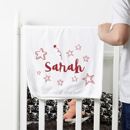 Personalised 'Star' Baby Blanket