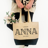 Personalised 'Name' Jute Bag