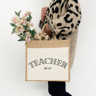 Personalised 'Any Profession' Jute Bag