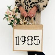 Personalised 'Year' Jute Bag