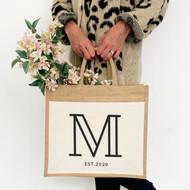 Personalised 'Inital' Jute Bag