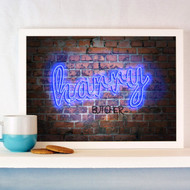 Personalised Neon Name Poster