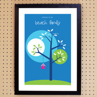 Personalised Family Tree Poster