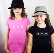 Personalised Child's Hobbies T Shirt