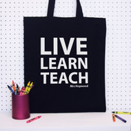 Personalised Live Learn Teach Bag