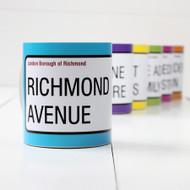 Personalised Street Sign Mug