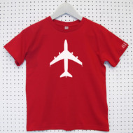Personalised 'Aeroplane' Child's Organic Cotton T-shirt